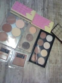 Contour highlight bronze blush concealer bundle