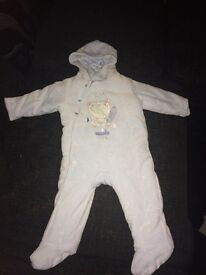 Mother care snowsuit 6-9 months