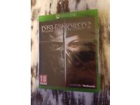 Xbox One Game - Dishonored 2 - Sealed / Unopened