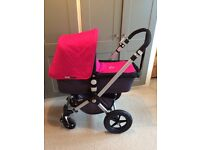 Bugaboo Cameleon 2 with Pink Canvas Fabrics & Cosy Toes.