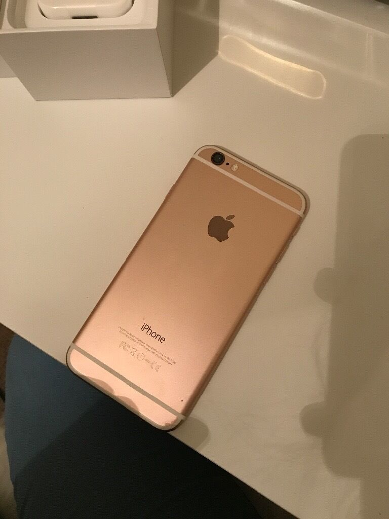 rose gold iphone iphone 6 gold 16 gb unlocked in dunmurry belfast 1055