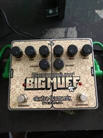 EHX Germanium Big Muff distortion pedal