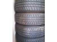 Tires 4 x 195/65/15
