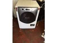 pure white hotpoint washing machine it's 11kg 1600 spin in excellent condition in full working order