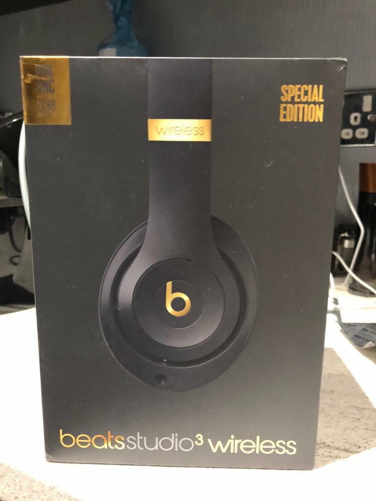 Beats Studio 3 Wireless Special Edition New In