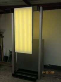 Advertising Stand With Lighting Panel Full Working Order