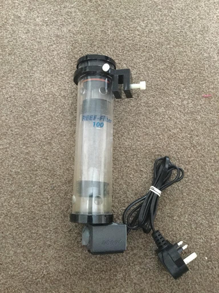 Fish tank Tmc filter / reactor