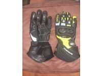 Spada Enforcer Winter Waterproof Motorbike Gloves Size Large