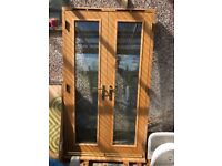 Oak French doors ex display good condition £250 no offers