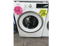 9kg load white hisense ex display washing machine