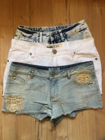 Women's shorts bundle size 10