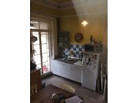 Old kitchen cabinets / worktop / sink unit - to be picked up this weekend 25th March