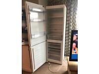 Beko freestanding white fridge freezer