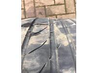 Part worn 275/30 19 Continental tyres