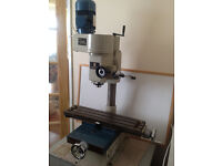Chester milling machine with variable speed .