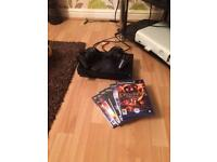 PS2 boxed 2 pads 6 games