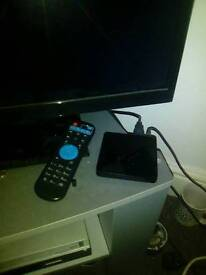 For swaps Android box and 32 inch tv