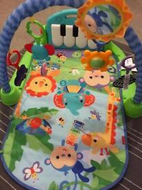 Babies piano gym mat