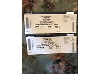 2 LITTLE MIX TICKETS MANCHESTER LOWER TIER EXELLANT SEATS