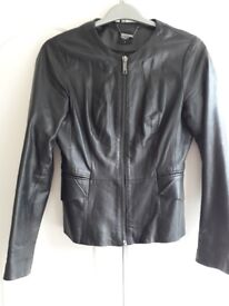 Ladies leather jacket (small)