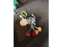 Zebra pram toy