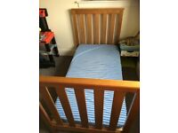 Cot bed!!! Like new