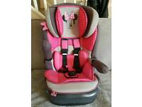 Minnie Mouse Car Booster Seat