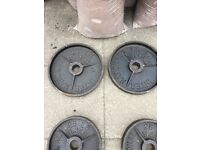 Steel weight plates