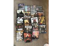 Action batch of 19 x DVDs