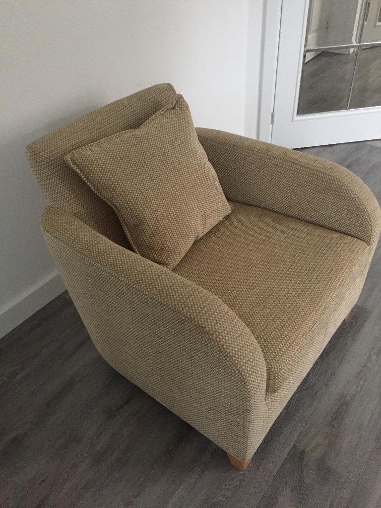 Small elegant tub armchair