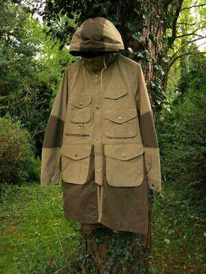 Barbour X White Mountaineering Men's Grayling Rare Cotton blend Parka Jacket Coa