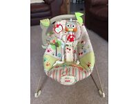 Fisher price vibrating baby bouncer-excellent condition. Smoke & dog free home