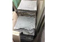 Bundle of slate tiles