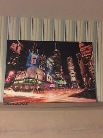 New York Wall Canvas