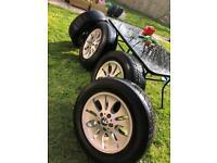 BMW Elipsoid alloy wheels
