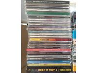 Over 100 CD Singles, albums, dance mix CDs