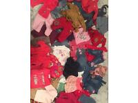 Girls clothing bundle 3/6 months