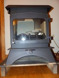 Woodwarm Wildwood 5KW woodburning freestanding cleanburn stove. New. 9yr guarantee. DEFRA approved.