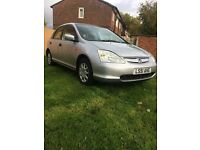 2001 Honda Civic SE 1.4 Automatic (Low Millage)