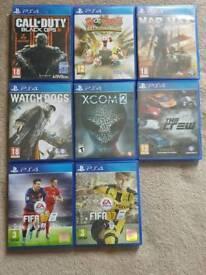 Job lot of ps4 games