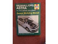 Haynes Vauxhall/Opel Astra manual