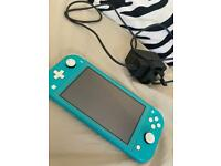Nintendo switch lite for sale in blue
