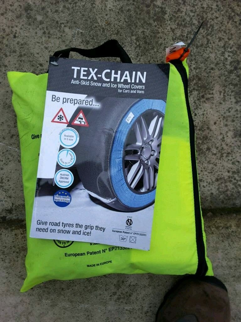 Tex Chain Anti Skid Snow & Ice Wheel covers