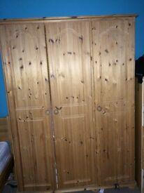 Strong Pine wardrobe £110