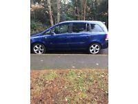 VAUXHALL ZAFIRA BLUE 7 SEATER GOOD CAR