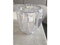 X2 beautiful crystal (acrylic) lamp shades