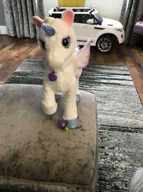 Fur real friends unicorn