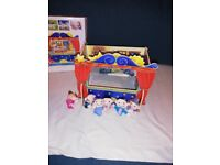 Wooden small puppet theatre
