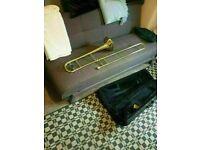 Mirage TT61 Deluxe Student Bb Tenor Slide Trombone Kit w/ Case & Mouthpiece