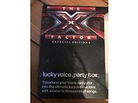 Lucky Voice Karaoke Party Box (X Factor Edition)